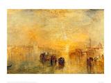 Going to the Ball, Venice, 1846 Lámina giclée por J.M.W. Turner