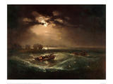 Fishermen at Sea, The Cholmeley Sea Piece, 1796 Giclee Print by J.M.W. Turner