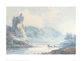 Ilam Rock, Dovedale, Staffordshire Giclee Print by J.M.W. Turner