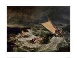 Shipwreck, 1800 Giclee Print by J.M.W. Turner