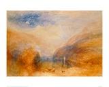 Lake of Brienz Giclee Print by J.M.W. Turner