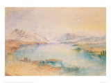 The Rigi, Lake Lucerne Giclee Print by J.M.W. Turner