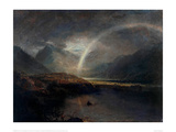 Lake Buttermere with Part of Cromackwater, Cumberland Giclee Print by J.M.W. Turner
