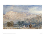 Bethlehem, The Flight into Egypt Giclee Print by J.M.W. Turner