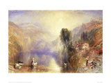 Lake Nemi Giclee Print by J.M.W. Turner