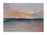 Sunset, 1851 Giclee Print by J.M.W. Turner