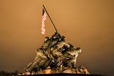 The Marine Corps War Memorial Washington Dc Photographic Print by  BILLPERRY