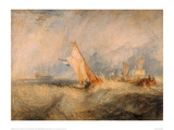 Admiral Van Tromp Cruising Into the Wind, 1844 Giclee Print by J.M.W. Turner