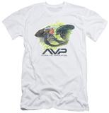 Alien vs Predator - Painted Battle (slim fit) Shirts