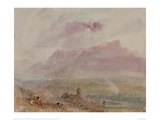 The Town and Lake of Thun, 1841 Giclee Print by J.M.W. Turner