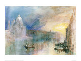 Venice, Grand Canal Giclee Print by J.M.W. Turner