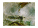 Snowstorm at Sea, 1842 Giclee Print by J.M.W. Turner