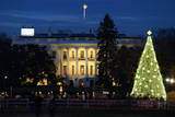 The White House in Christmas - Washington Dc, United States Posters by  Orhan