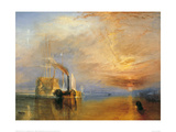 The Fighting Temeraire, 1838 Giclee Print by J.M.W. Turner
