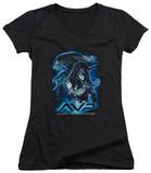 Juniors: Alien vs Predator - Their Way V-Neck T-Shirts