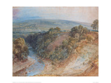 Valley of the Washburn, 1818 Giclee Print by J.M.W. Turner