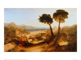 The Bay of Baiae with Apollo and the Sibyl Giclee Print by J.M.W. Turner