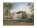 Clontarf Castle, County Dublin, 1817 Giclee Print by J.M.W. Turner