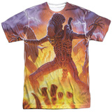 Alien - Lightning And Fire T-shirts