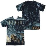 Alien - Lurking (Front/Back Print) T-shirts
