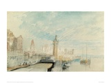Mainz, 1817 Giclee Print by J.M.W. Turner