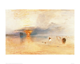 Calais Sands at Low Water, 1830 Giclee Print by J.M.W. Turner