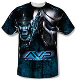 Alien vs Predator - Head To Head T-shirts