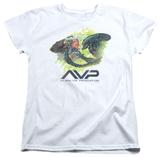 Womans: Alien vs Predator - Painted Battle T-Shirts