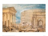 Antiquities of Pola, 1818 Giclee Print by J.M.W. Turner