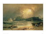 Pembroke Castle Giclee Print by J.M.W. Turner