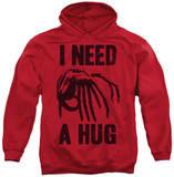 Hoodie: Alien - Need A Hug Pullover Hoodie