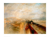 Rain Steam Speed- The Great Western Railway, 1844 Giclee Print by J.M.W. Turner