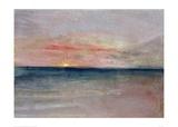 Sunset, 1851 Giclee Print by J.M.W. Turner