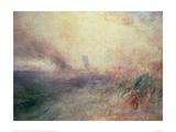 Coast Near Folkestone, 1845 Giclee Print by J.M.W. Turner