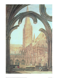 South View of Salisbury Cathedral, 1802 Giclee Print by J.M.W. Turner
