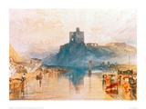 Norham Castle on the River Tweed, 1822 Giclee Print by J.M.W. Turner