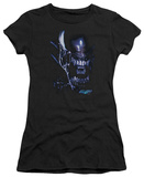 Juniors: Alien vs Predator - Alien Head Shirts