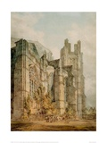 St Anselm's Chapel at the Cathedral of Canterbury, 1794 Giclee Print by J.M.W. Turner