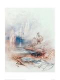 Mackerel on the Beach Giclee Print by J.M.W. Turner