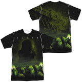 Alien - Ominous (Front/Back Print) T-shirts