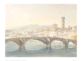 Florence from the Arno Giclee Print by J.M.W. Turner