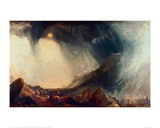 Snowstorm, Hannibal and his Army Crossing the Alps Giclee Print by J.M.W. Turner