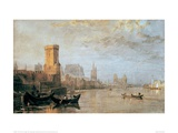 Cologne, 1817 Giclee Print by J.M.W. Turner