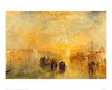 Going to the Ball, Venice, 1846 Giclee Print by J.M.W. Turner