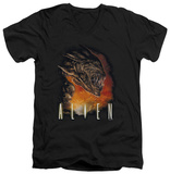 Alien - Fangs V-neck T-shirts