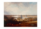 London from Greenwich Park Giclee Print by J.M.W. Turner