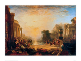 The Decline of the Carthaginian Empire Giclee Print by J.M.W. Turner