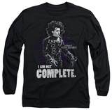 Longsleeve: Edward Scissorhands - Not Complete T-Shirt