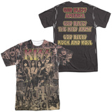 KISS - God Bless (Front/Back) T-shirts