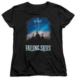 Womans: Falling Skies - Main Players T-shirts